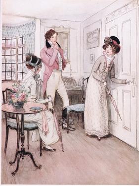 Miss Henrietta and Miss Fanny by Hugh Thomson