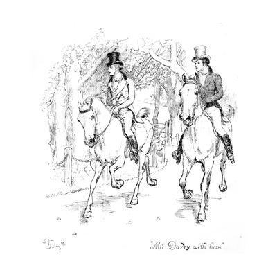 Mr. Darcy with Him', Illustration from 'Pride and Prejudice' by Jane Austen, Edition Published in?