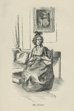 Mrs Ferrars, 1896 by Hugh Thomson