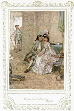 Richard Brinsley Sheridan's play by Hugh Thomson