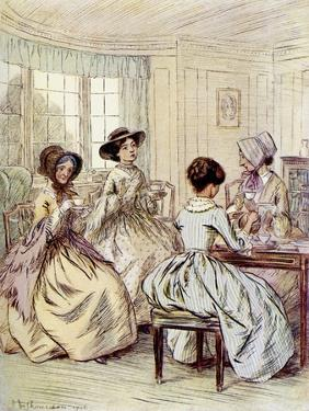 Scenes of Clerical Life by George Eliot by Hugh Thomson