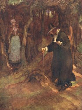 She Beheld the Minister Advancing by Hugh Thomson