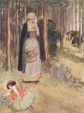 She Beheld the Old Physician in Quest of Roots and Herbs by Hugh Thomson