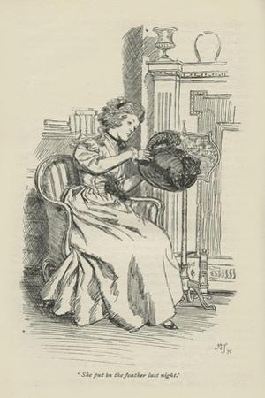 She put in the feather last night, 1896