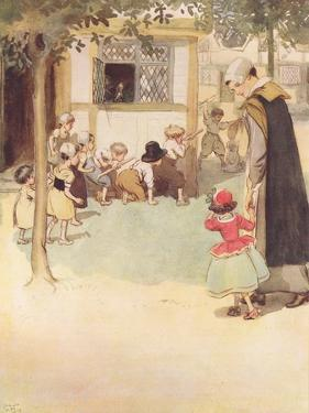 She Saw the Children Disporting Themselves by Hugh Thomson