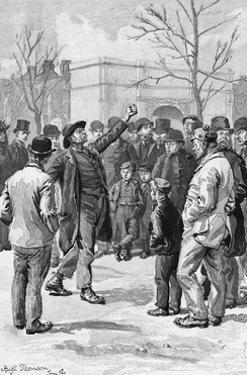 Socialism in Hyde Park by Hugh Thomson