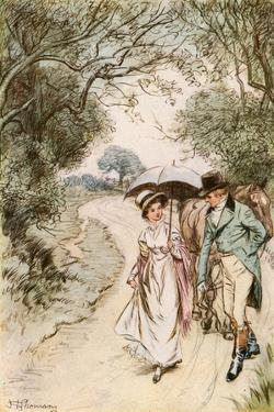 The Rarer Pleasure of Seeing Miss Nancy Lammeter by Hugh Thomson