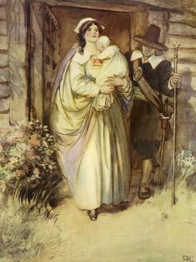 The Scarlet Letter, a Romance by Nathaniel Hawthorme by Hugh Thomson
