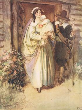 The Young Lady Stood Fuuly Revealed by Hugh Thomson