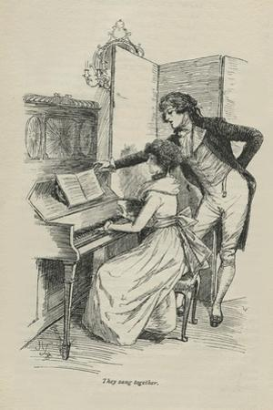 They sang together, 1896
