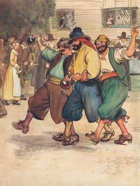They Were Rough Looking Desperadoes by Hugh Thomson