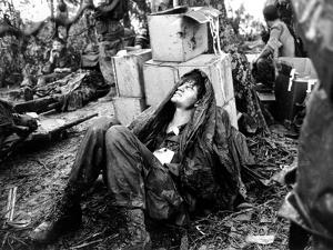 Vietnam War U.S. Hamburger Hill by Hugh Van Es