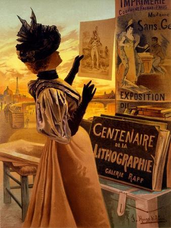 One Hundred Years of Lithography at Galerie Rapp, Paris