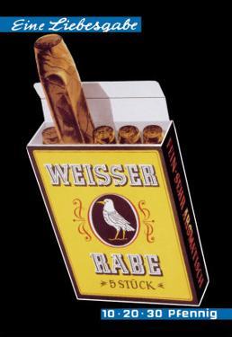 Weisser Rabe Cigars by Hugo Laubi