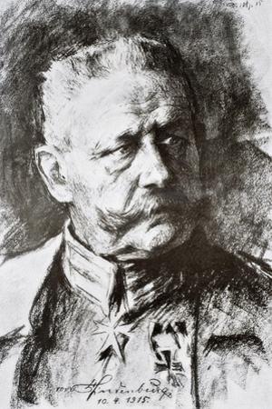 General Paul Von Hindenburg