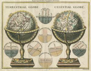 Antique Globes by Hugo Wild