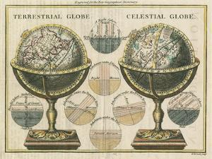 Antique Globes by Hugo Wild