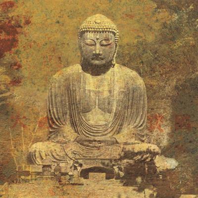 Buddha Statue, Kamakura Japan by Hugo Wild