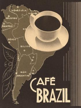 Cafe Brazil II by Hugo Wild