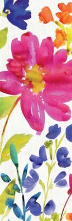 Floral Medley Panel I by Hugo Wild