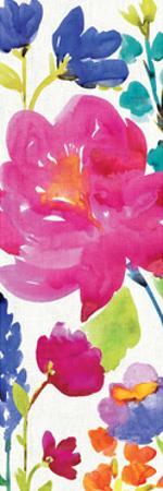 Floral Medley Panel II by Hugo Wild
