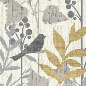 Garden Leaves Square V by Hugo Wild