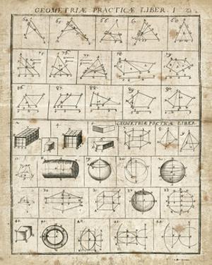 Geometric Chart I by Hugo Wild