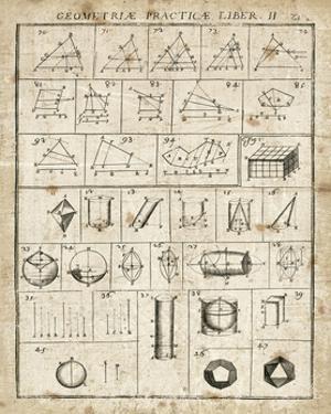 Geometric Chart II by Hugo Wild