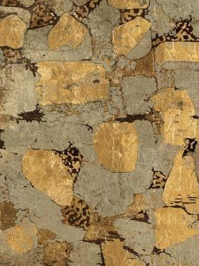Gilded Stone Gold I by Hugo Wild