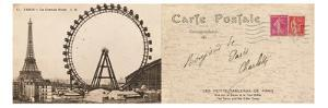 Lettre de Paris II by Hugo Wild