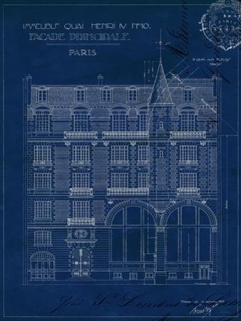 Quai Henri Blueprint I by Hugo Wild
