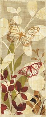 Warm Fluttering Panel I by Hugo Wild