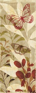 Warm Fluttering Panel II by Hugo Wild