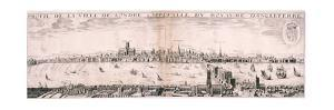 View of London from the South, 1643 by Hugue Picart
