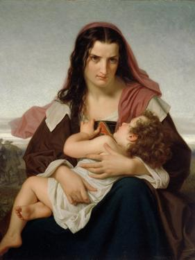 The Scarlet Letter, 1861 by Hugues Merle