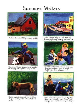 Summer Visitors - New Yorker Cartoon