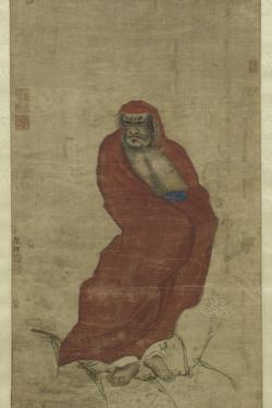 Bodhidharma Crossing the Yangzi by Hui Yan