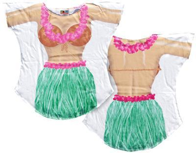 Hula Girl Cover-Up