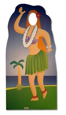 Hula Girl Lifesize Standup