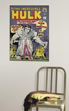 Hulk #1 Peel & Stick Comic Book Cover Wall Decal
