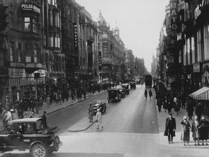 Friedrichstrasse by Hulton Archive