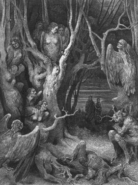 Hideous Harpies by Hulton Archive