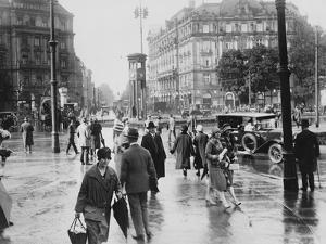 Potsdamer Platz by Hulton Archive
