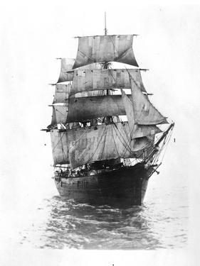 Sailing Ship by Hulton Archive