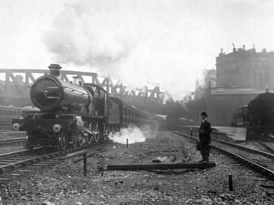Express Steam Train by Hulton Collection