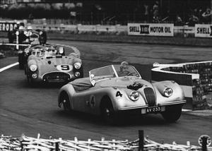 International Sports Car Race, UK, 1952 by Hulton Deutsch Collection
