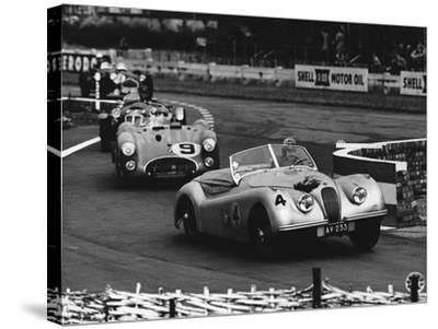 International Sports Car Race, UK, 1952 by Hulton Deutsch Collection