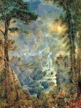 The Fairy Falls, 1908 by Hume Nisbet