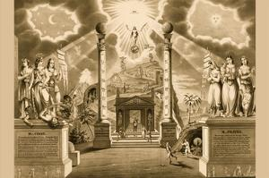 Symbols -Masonic Chart by Humphreys