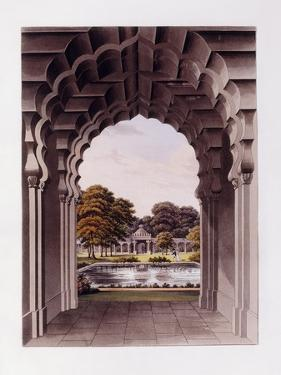 An Architectural Design with Garden, 1821-1822 by Humphry Repton
